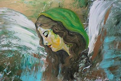 Healing Angel Poster by Alma Yamazaki