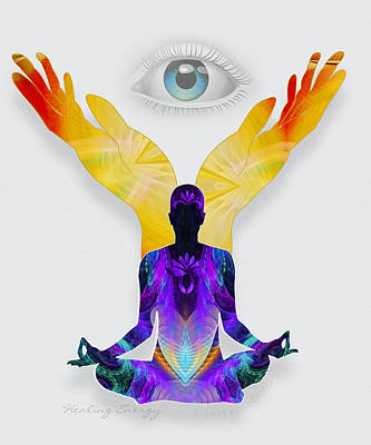 Healing Energy Poster