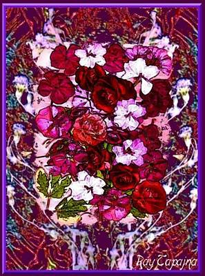 Healing Flowers For You Poster by Ray Tapajna