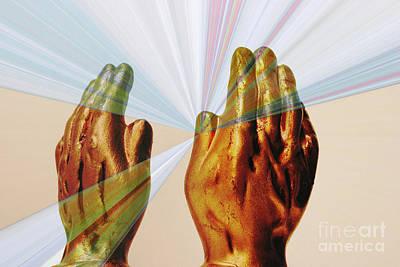 Healing Hands Poster by Linda Matlow