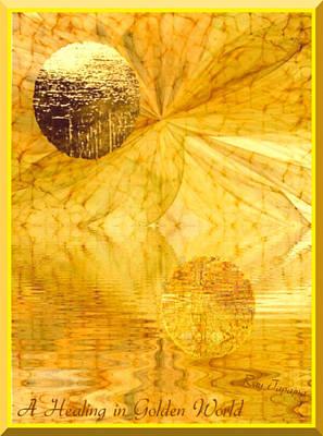 Healing In Golden World Poster