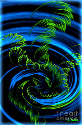 Healing Vortex - Abstract Spiritual Art By Giada Rossi Poster by Giada Rossi