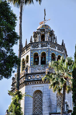 Hearst Castle Tower - California Poster