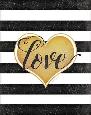 Heart Love Poster by Jennifer Pugh