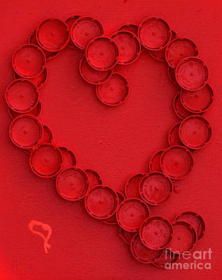 Heart Smart Poster by Alys Caviness-Gober