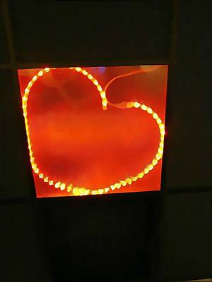 Hearts Afire Poster by Anne Sterling