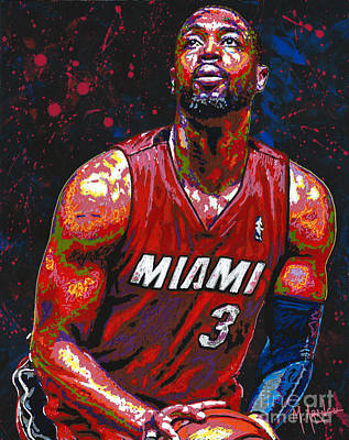 Dwyane Tyrone Wade Jr. Poster