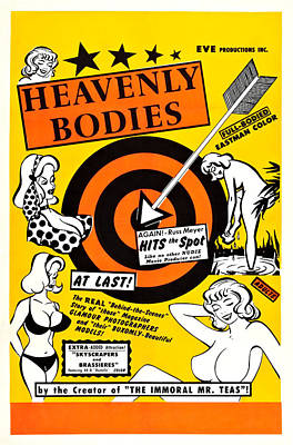Heavenly Bodies, Us Poster, 1963 Poster by Everett