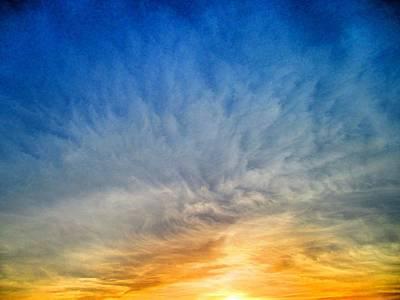 Heavenly Skies Poster