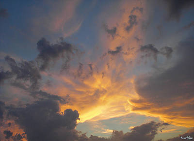 Poster featuring the photograph Heavenly Sky by Bill Woodstock