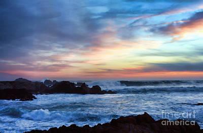 Heavenly Sunset Poster