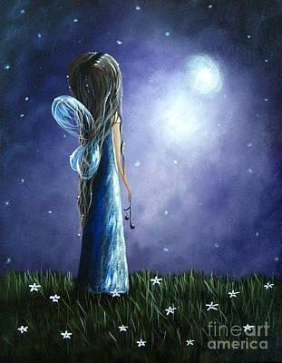 Heaven's Little Helper By Shawna Erback Poster