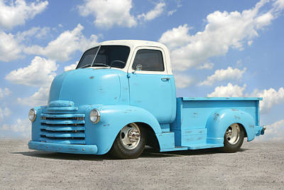 Heavy Duty Chevy Truck Poster