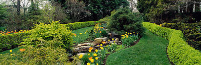 Hedge In A Formal Garden, Ladew Topiary Poster by Panoramic Images