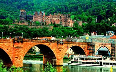 Heidelberg Castle Poster by Kimo Fernandez