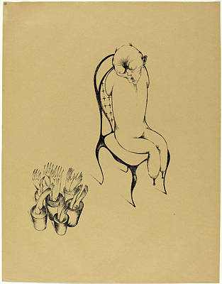 Heinrich Hoerle, Hällucinationen Hallucinations Poster by Quint Lox