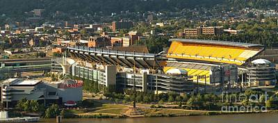Heinz Field Afternoon Panorama Poster