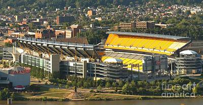 Heinz Field In The Off Season Poster
