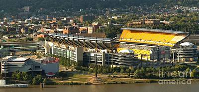 Heinz Field On The North Shore Poster