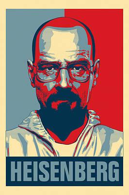 Heisenberg Poster by Taylan Apukovska