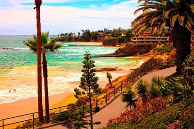 Heisler Park Laguna Beach Poster by California Photo