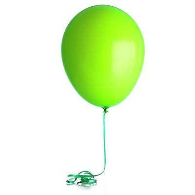 Helium-filled Balloon Poster