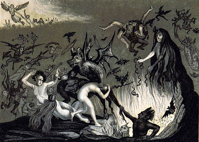 Hellmouth, 1834 Poster by British Library