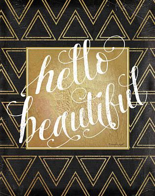Hello Poster by Jennifer Pugh