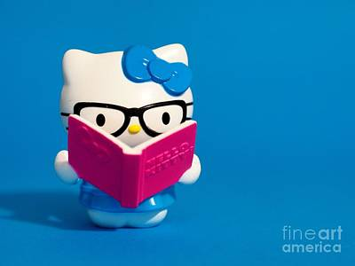 Hello Kitty Poster by Valerie Morrison