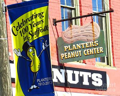 Hello Mr. Peanut Poster