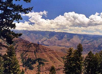 Poster featuring the photograph Hells Canyon by Debra Kaye McKrill