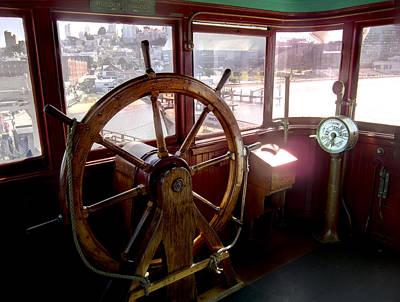 Helm Of Victorian Eureka Ferry Poster by Daniel Hagerman