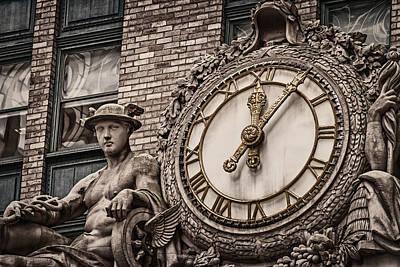 Helmsley Building Clock Poster