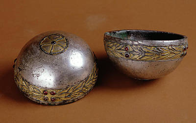 Hemispherical Cup Unknown Eastern Parthian Empire 1st Poster