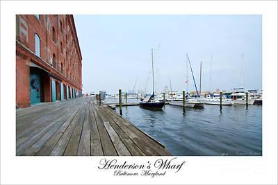 Hendersons Wharf Poster
