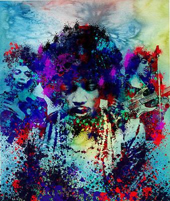 Hendrix 3 Poster