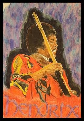 Hendrix Poster by Michael McGrath