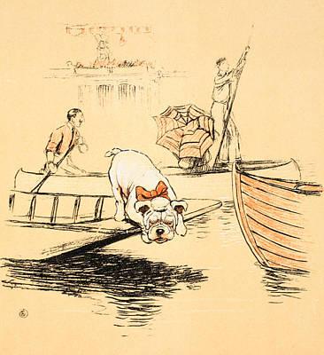 Henley Regatta Poster by Cecil Charles Windsor Aldin