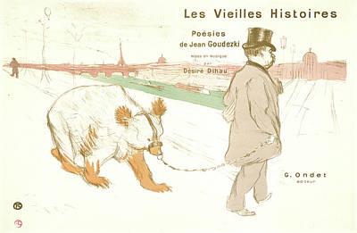 Henri De Toulouse-lautrec French, 1864 - 1901. Ancient Poster