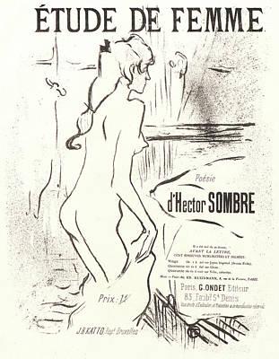 Henri De Toulouse-lautrec French, 1864 - 1901. Study Poster by Litz Collection