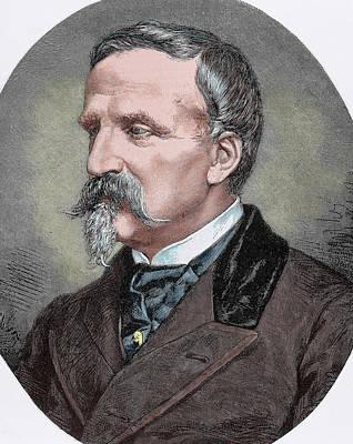 Henri Eugene Philippe D'orleans, Duke Poster by Prisma Archivo