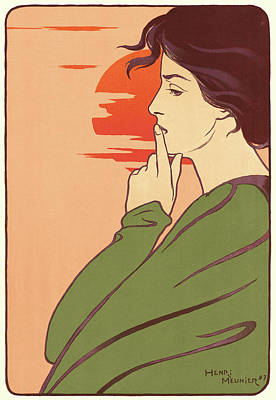Henri Georges Jean Isidore Meunier Belgian Poster by Litz Collection