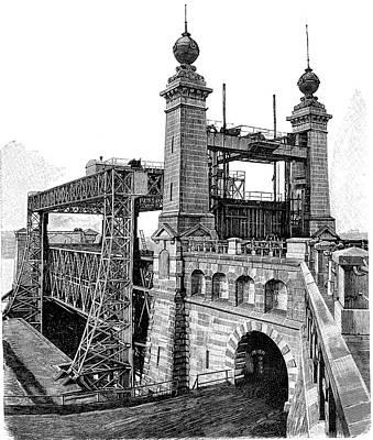 Henrichenburg Boat Lift Poster