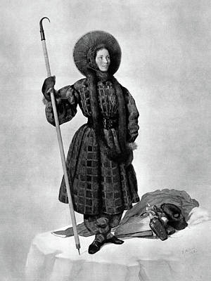 Henriette D'angeville (1794-1871) Poster by Granger