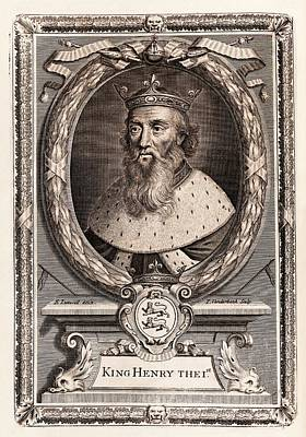 Henry I Poster by Middle Temple Library