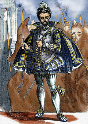 Henry IIi Of France (1551-1589 Poster