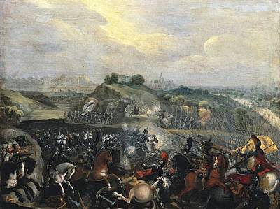 Henry Iv In The Battle Of Ivry, 14th Poster