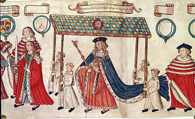 Henry Viii; Duke Of Buckingham Poster by British Library