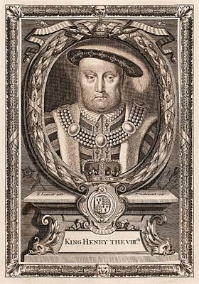 Henry Viii Poster by Middle Temple Library