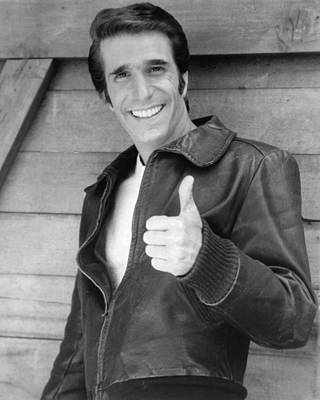 Henry Winkler Poster by Silver Screen